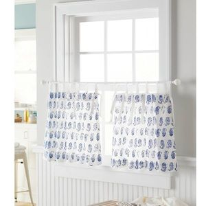 Threshold Paisley Curtain Tier Panel